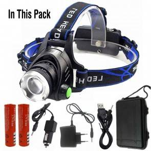Advance Head Lamp Z30568D | LED XM-L L2 | 10kya Outdoor Gear India Online