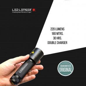 LED Lenser© i7 DR Industrial Light 220 Lumens Double Charger LED Torch | Flash Lights & Torches [ HSN 9405