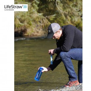 Lifestraw Go Water Filter with Bottle by Vestergaard | LSGOV2CR38  [ HSN 84212120