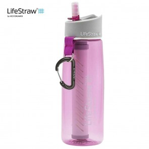 Lifestraw Go Water Filter Bottle LSGOV2CR51 | 10kya.com Outdoor Adventure Store India