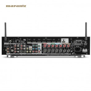Marantz NR1608 7.2 Channel Full 4K Ultra HD Network AV Receiver with HEOS | AVR Bluetooth, WiFi, Airplay  [HSN 85184000