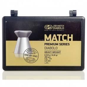 JSB Match Diabolo premium 200 Pellets 0.177/4.5mm