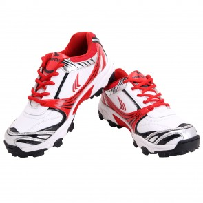 buy Mayor Red-White Kent Cricket Shoes-MCS6001 best price 10kya.com