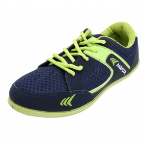Mayor Navy-Lime Green Amaze Running Shoes-MCS8001