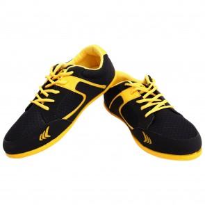 buy Mayor Black-Yellow Amaze Running Shoe-MCS8003 best price 10kya.com