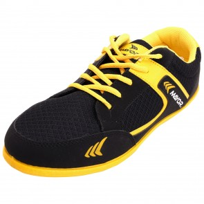 Mayor Black-Yellow Amaze Running Shoe-MCS8003