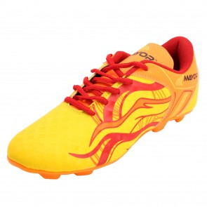 Mayor Yellow-Red Fiero Football Studs-MFS3001