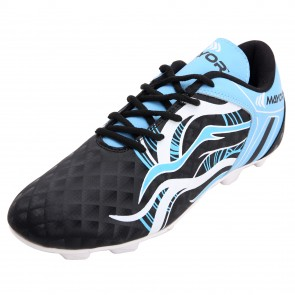 Mayor Black-Sky Blue Fiero Football Studs-MFS3002