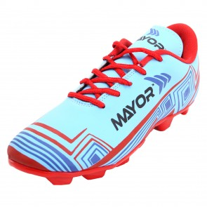 Mayor Sky Blue-Red Casilla Football Studs-MFS4001