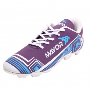 Mayor Purple-Green Casilla Football Studs-MFS4002