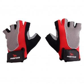 buy Mayor Amazonia Red-Black Gym Gloves-MGG200 best price 10kya.com