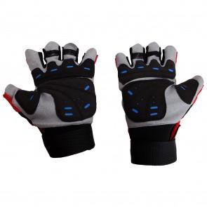 Mayor Granada Red-Black Gym Gloves-MGG600