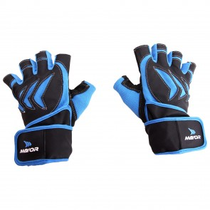 buy Mayor Pacifico Blue-Black Gym Gloves-MGG700 best price 10kya.com
