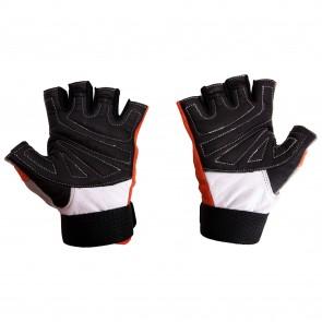 Mayor Victoria Orange-Charcol Gym Gloves-MGG800