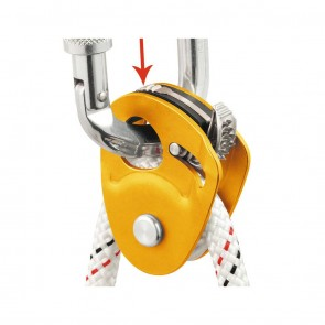Petzl Micro Traxion | P53 | Pulley | Climbing & Mountaineering [ HSN 95