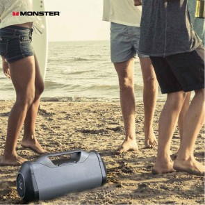 Monster Blaster Bluetooth Boom Box | Outdoor Party Portable Wireless Rechargeable Speakers | Monster Audio [HSN 85182900