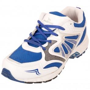 Mayor Snapper White-Royal Blue Running Shoes-MRS8101