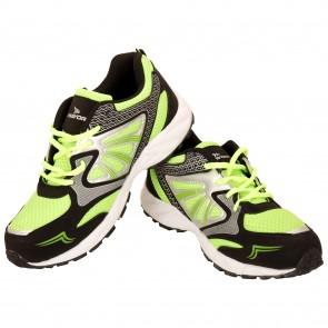 buy Mayor Snapper Black-Lime Green Running Shoes-MRS8102 best price 10kya.com
