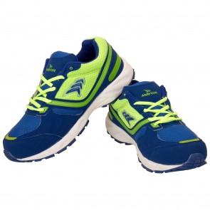 buy Mayor Radium Lime Green-Royal Blue Running Shoes-MRS8201 best price 10kya.com