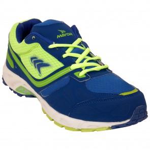 Mayor Radium Lime Green-Royal Blue Running Shoes-MRS8201