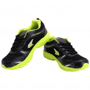 buy Mayor Black-Lime Green Panther Running Shoe-MRS9000 best price 10kya.com