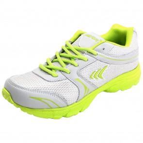 Mayor Grey-Lime Green Strike Running Shoe-MRS9101