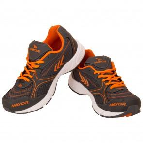 buy Mayor Krane Charcoal-Orange Running Shoes-MRS9201 best price 10kya.com