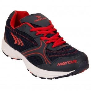 Mayor Krane Navy-Red Running Shoes-MRS9202