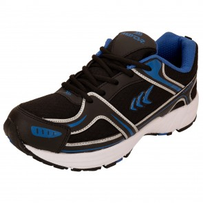 Mayor Galaxy Black-Blue Running Shoes-MRS9301