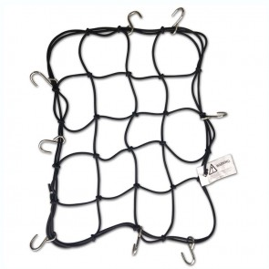 Mototech Metal Hook Bungee Net - 4mm