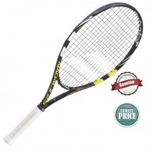 Babolat Nadal Jr. 23 Tennis Racquet | Pre Strung | Black Yellow [ HSN 95