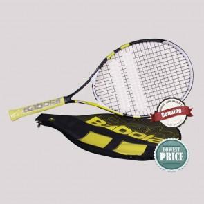 Babolat Nadal Jr. 26 Tennis Racquet | Pre Strung | Black Yellow [ HSN 95