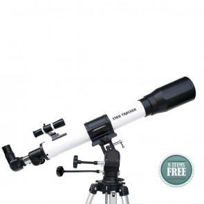 Star Tracker Refractor Telescopes | 80/900 NG  | Telescope [ 45x to 180x ] [ HSN 90058010