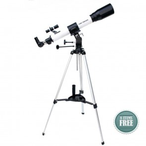 Buy Startracker Sky Land 70/900 NG Refractor Telescope | 10kya.com Star Gazing Store Online