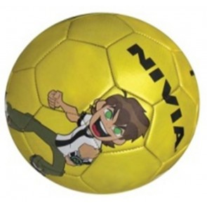 Nivia Omniverse Machine Stiched Football-Yellow | Size-5 [ HSN 95