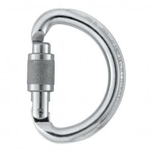 Petzl Omni Grey - Screw Lock | M37 SL | Carabiner | 10kya.com Petzl Store India