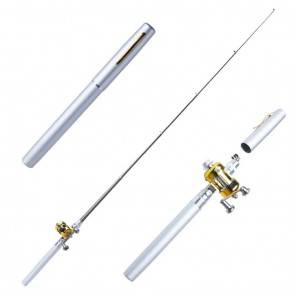 Pen Pocket Fishing Telescopic Rod White | 10kya.com Fishing Store Online