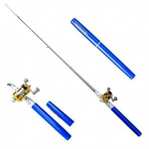 Pen Pocket Fishing Telescopic Rod Blue | 10kya.com Fishing Store Online