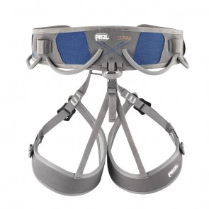 Petzl Corax Versatile Adjustable Harness | Blue | Climbing & Mountaineering | C51 B