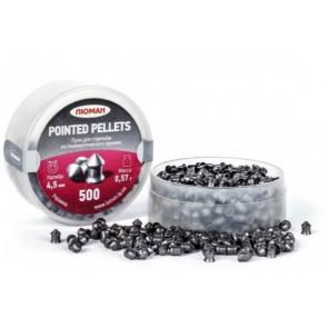 Ukraine Pointed pellets | 0.177-Cal 500 Pellets | 8.7 Grains | 0.57g