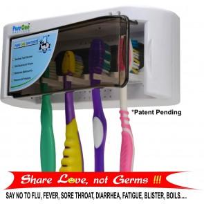PureOne UV Tooth Brush Sanitiser Cum Plasma Air Purifier   10kya.com Health Store Online