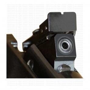 Club SX100 Long Black Barrel Walnut Wood Finish Butt   0.177 Cal Break Barrel   Precihole Air Rifles [ HSN 93040000