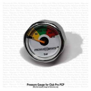 Precihole Pressure Gauge Assembly for Club Pro PX100 PCP | 10kya.com