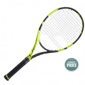Buy Babolat Oure Aero Yellow Black Tennis Racquet | 10kya.com Babolat Store Online