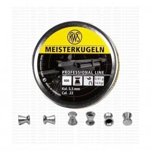 RWS Meisterkugeln .22 Cal - 14gram | 500 Pellets | Round Nose Head | 10kya.com Airgun India Store