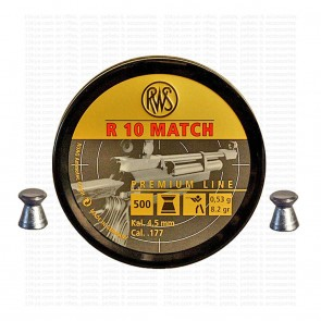 buy RWS R-10 Match Rifle Premium Match Pellets (0.177) Cal 4.50 | Flat Head best price 10kya.com