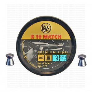 buy RWS R-10 Match Pistol - Premium Match Pellets (0.177) Cal 4.50 | Flat Head best price 10kya.com