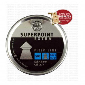 buy RWS Superpoint Extra (0.177) Cal-500 pellets | Pointed Head best price 10kya.com