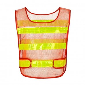 Reflective Safety Jacket Airy Net Fabric   for Cyclists, Bikers   10kya.com Cycling Safety Store Online