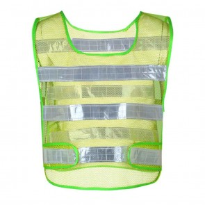 Reflective Safety Jacket Airy Net Fabric | for Cyclists, Bikers | 10kya.com Cycling Safety Store Online